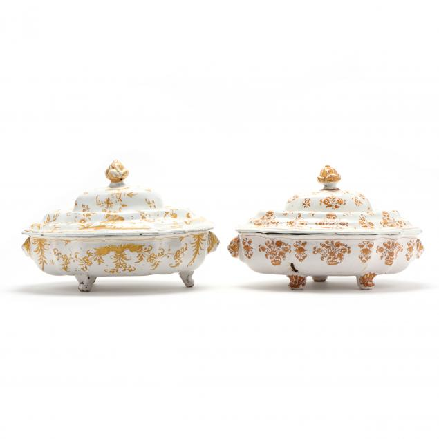two-french-faience-covered-serving-dishes