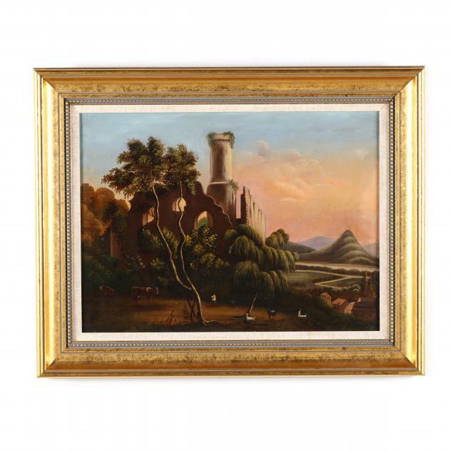 italian-school-19th-century-landscape-with-ruins