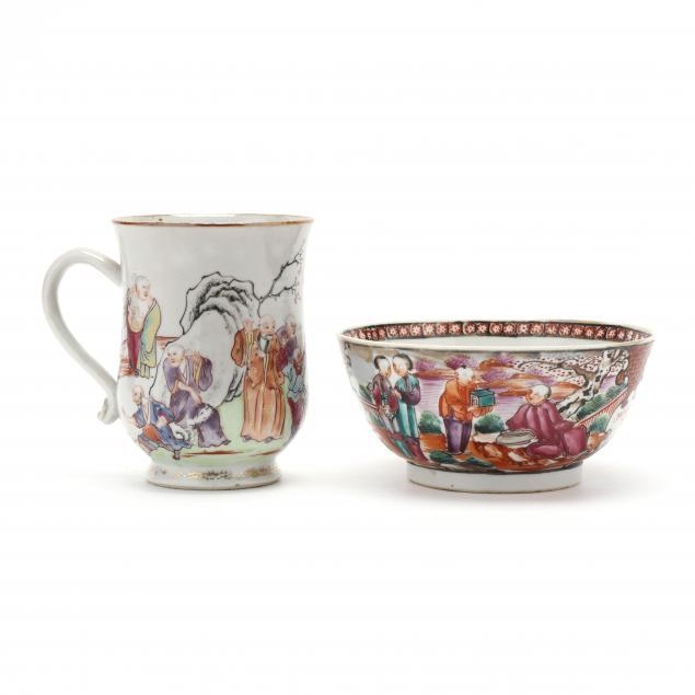 chinese-rose-mandarin-export-porcelain-mug-and-bowl