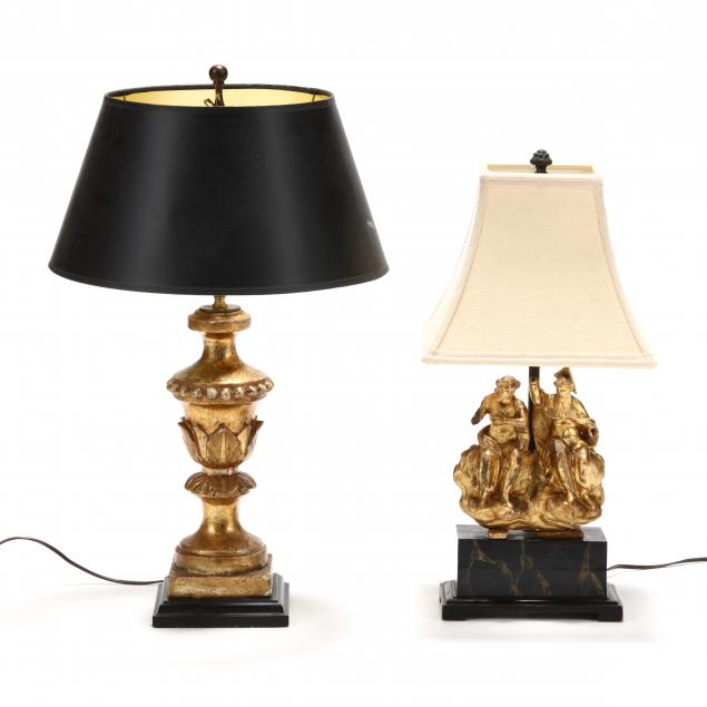 two-carved-antique-giltwood-table-lamps