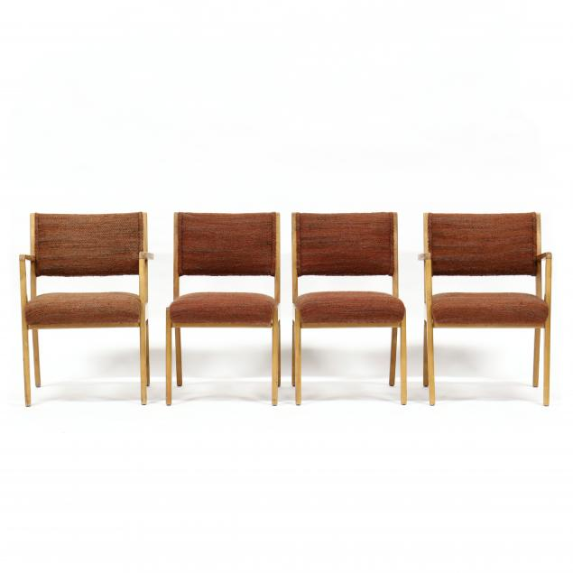 jens-risom-denmark-1916-2016-four-mid-century-chairs
