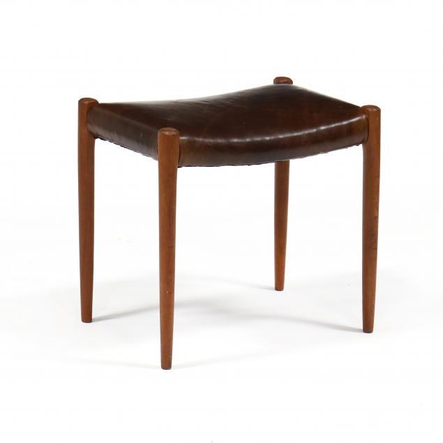 niels-moller-denmark-1922-1988-teak-and-leather-stool
