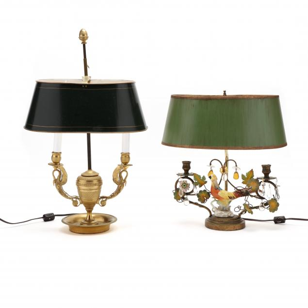 two-antique-french-bouillotte-lamps