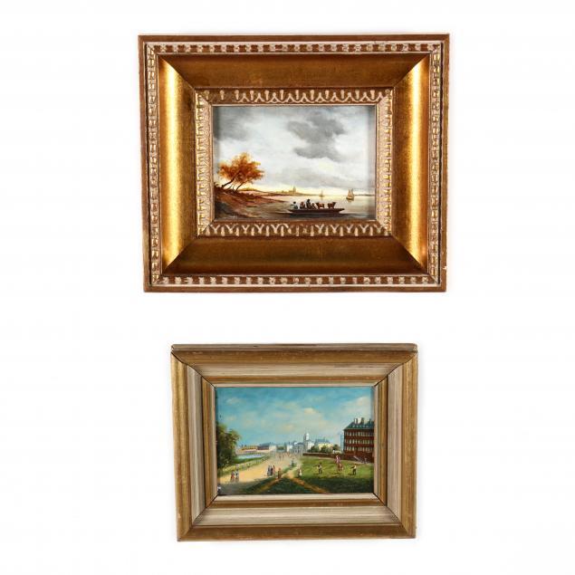 two-vintage-paintings