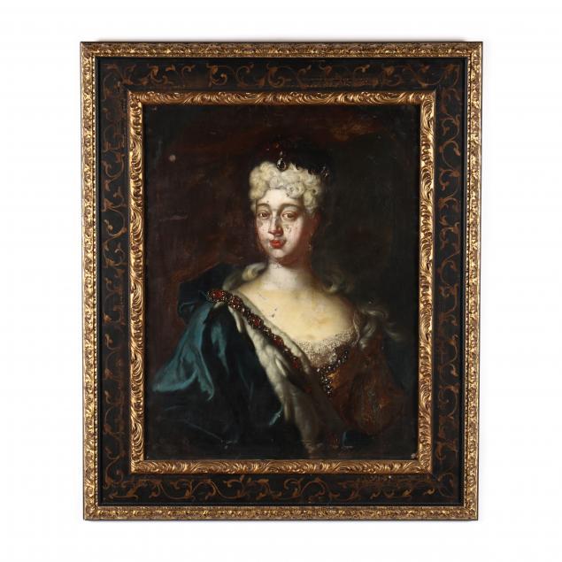 continental-school-circa-1700-portrait-of-a-noblewoman