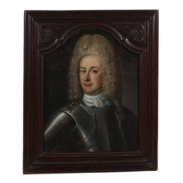 joseph-sibon-french-1731-portrait-of-a-nobleman-in-armor