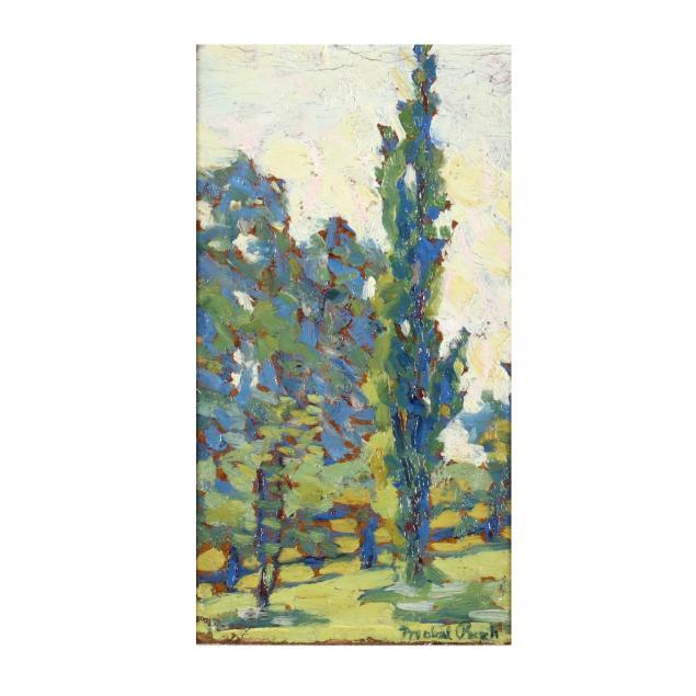 mabel-pugh-nc-1891-1986-arboreal-landscape