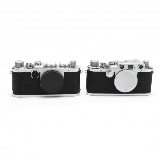 pair-of-vintage-leica-d-r-p-leitz-wetzlar-cameras-each-without-lens