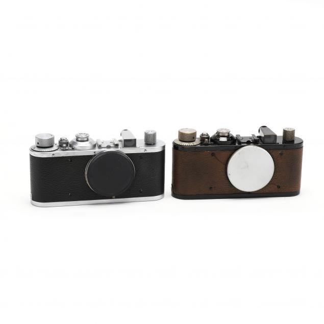 two-vintage-leica-d-r-p-leitz-wetzlar-cameras-each-without-lens