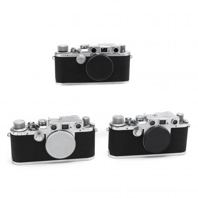 three-vintage-leica-d-r-p-leitz-wetzlar-cameras-each-without-lens