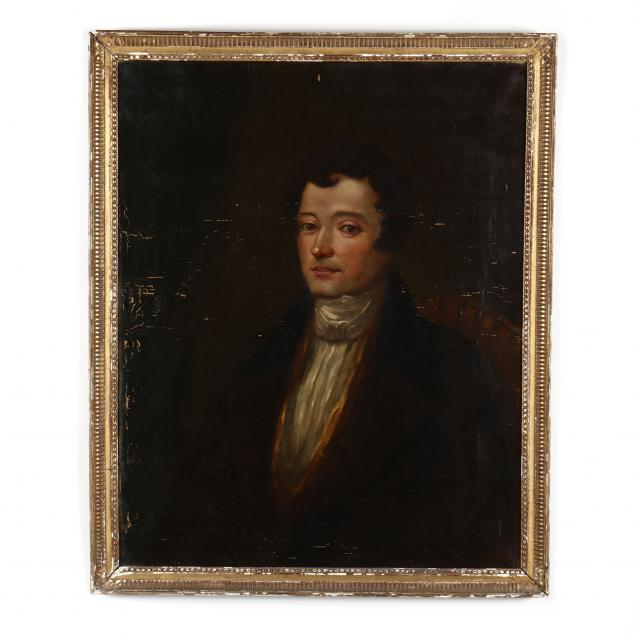 antique-regency-style-portrait-of-a-gentleman
