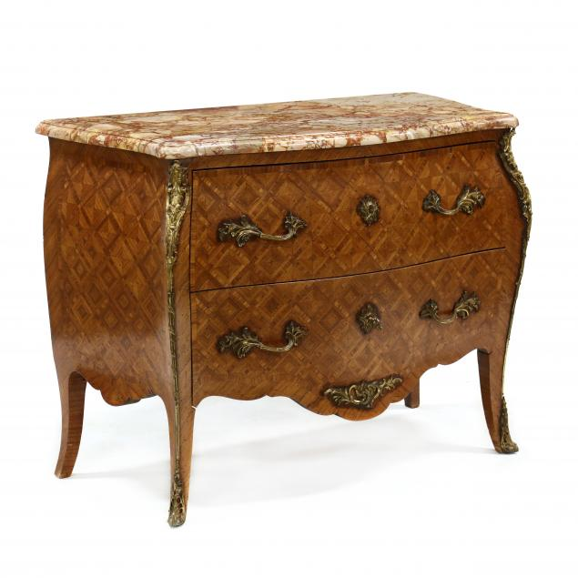 antique-louis-xv-style-inlaid-marble-top-commode