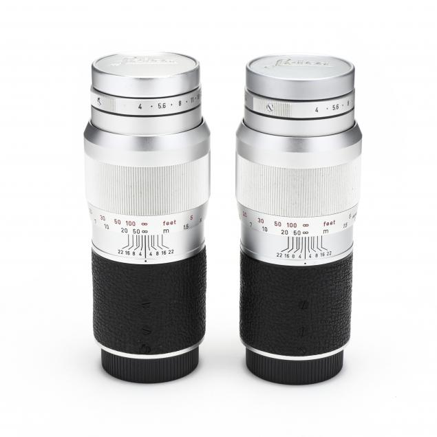 pair-of-vintage-leica-135mm-f-4-lenses
