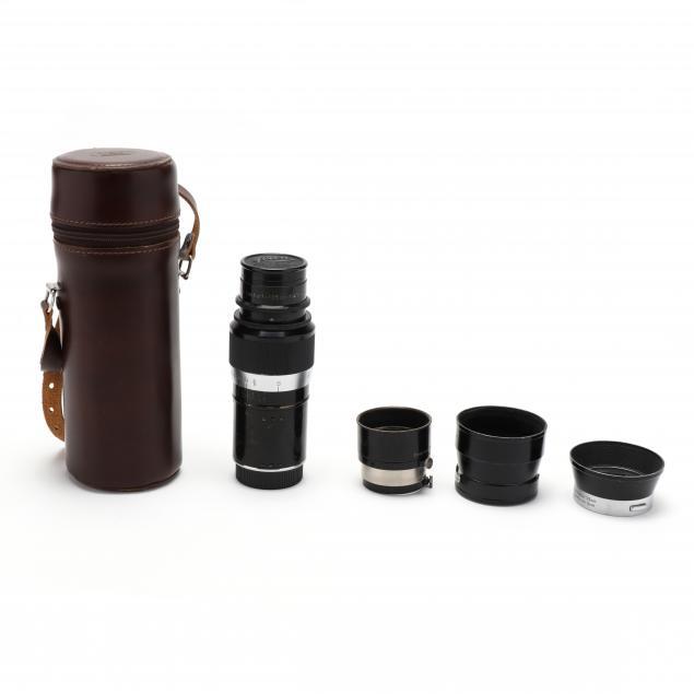 vintage-leica-f-4-5-leitz-hektor-wetzlar-lens-with-three-leica-shade-accessories