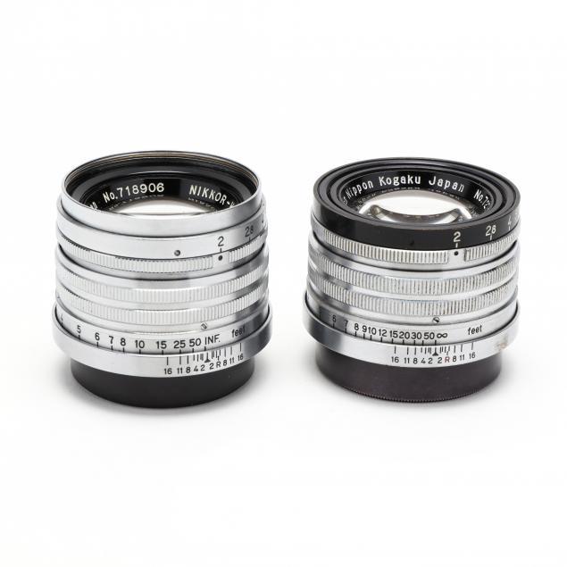 pair-of-nippon-kogaku-nikkor-h-c-5cm-50mm-f-2-lenses