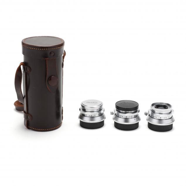 three-minolta-chiyoko-i-super-rokkor-i-45mm-f-2-8-lenses