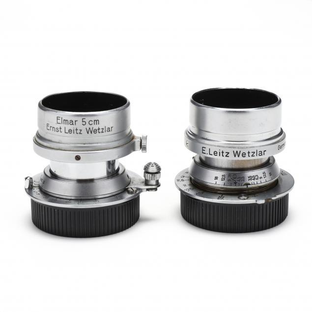 pair-of-leica-leitz-elmar-mtr-f-5cm-1-3-5-lens
