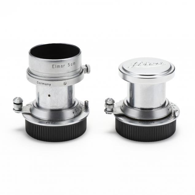 pair-of-leica-leitz-elmar-mtr-f-5cm-1-3-5-lenses