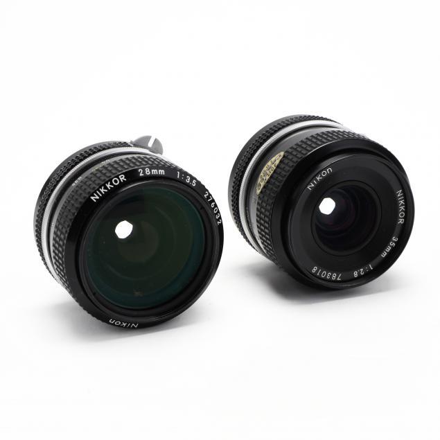 two-nikon-nikkor-camera-lenses