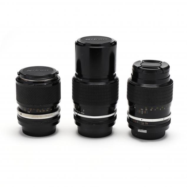 three-nikon-nikkor-manual-and-zoom-focus-lenses