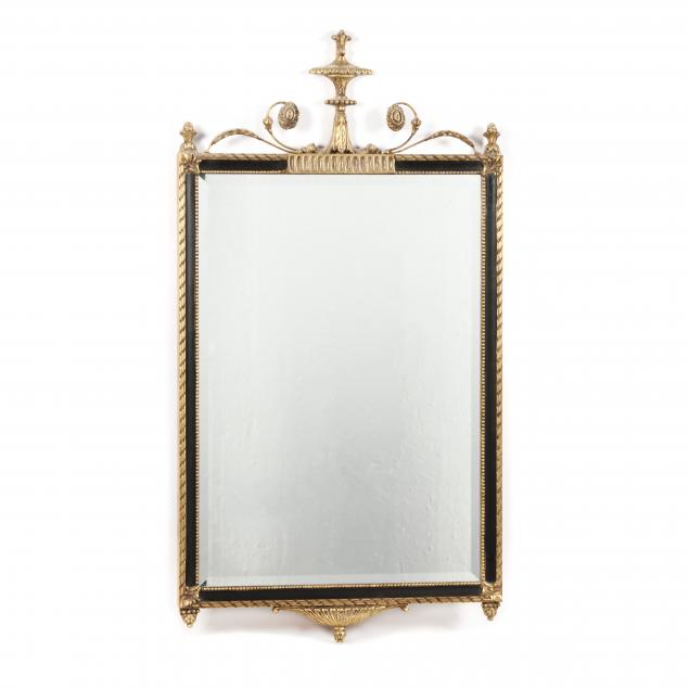 emerson-et-cie-neoclassical-style-gilt-and-ebonized-mirror