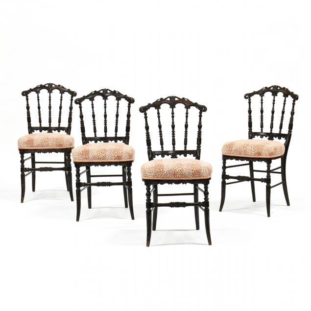 set-of-four-regency-faux-grain-painted-ballroom-chairs