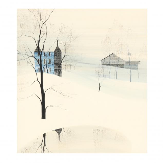 p-buckley-moss-va-ny-born-1933-farm-in-snow