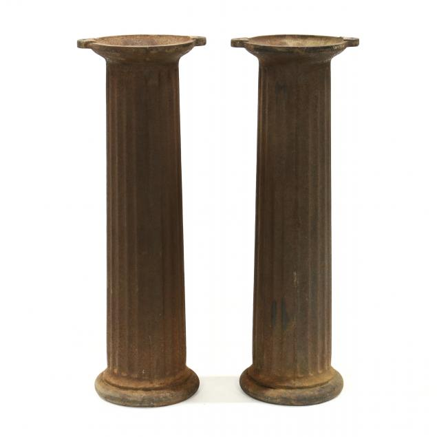 pair-of-architectural-cast-iron-columns