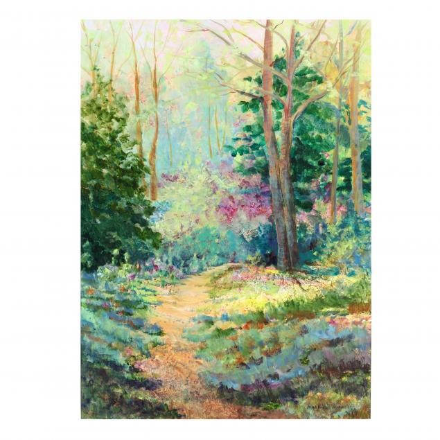 anne-haynes-jenkins-nc-impressionist-style-view-of-a-forest-interior