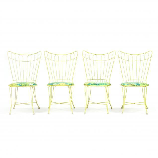 four-i-homecrest-i-yellow-garden-chairs