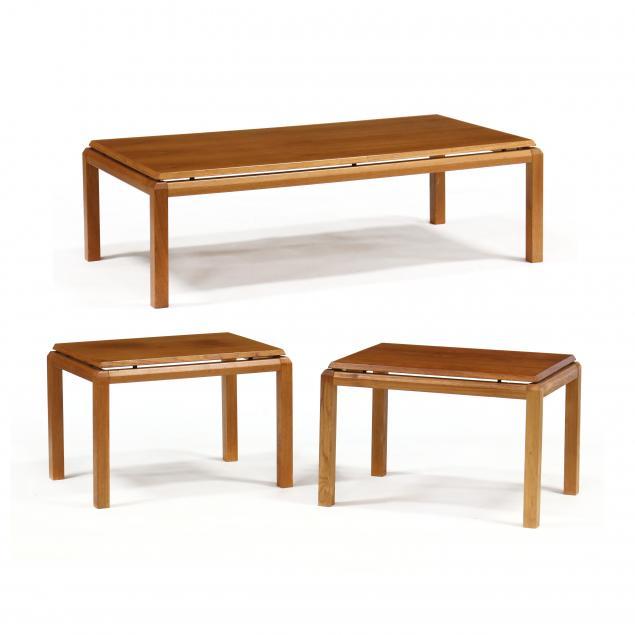 uldum-mobelfabrik-danish-coffee-table-and-pair-of-teak-side-tables