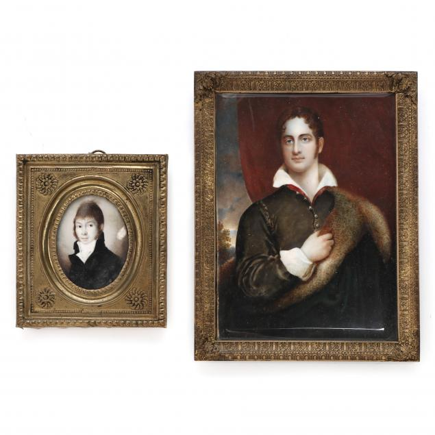 two-continental-portrait-miniatures-of-gentleman