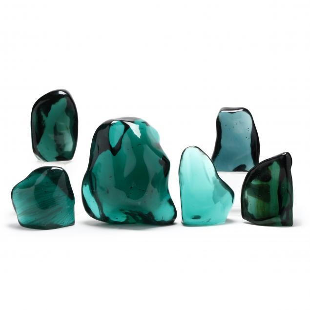 six-glass-sculptures
