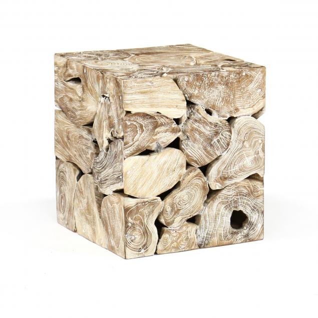 root-wood-cube-form-side-table