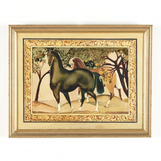 painted-illustration-of-horses