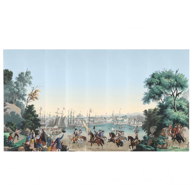 zuber-et-cie-scenic-wallpaper-i-la-guerre-de-l-independance-americaine-i