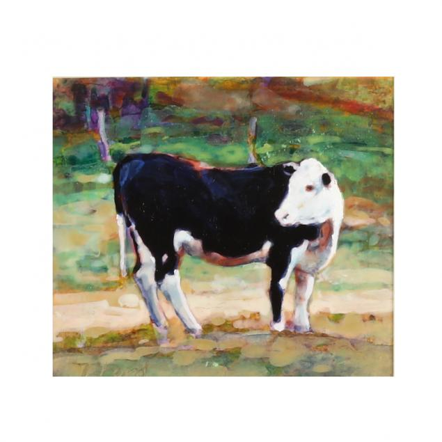 tim-ford-nc-born-1957-i-small-cow-study-i
