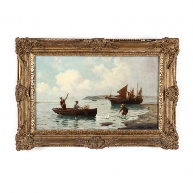 francis-e-jamieson-british-1895-1950-young-boys-by-the-seashore