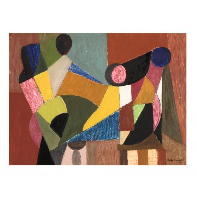 martin-rosenthal-ny-1899-1974-geometric-abstract