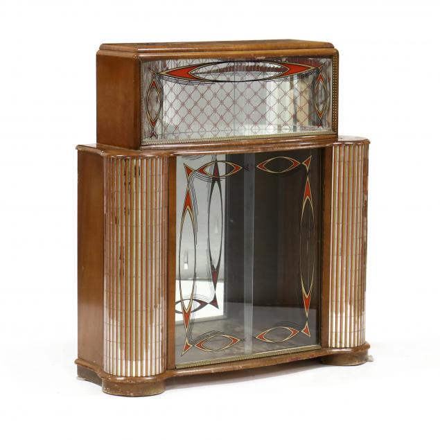 transitional-modern-eglomise-mirrored-bar-cabinet