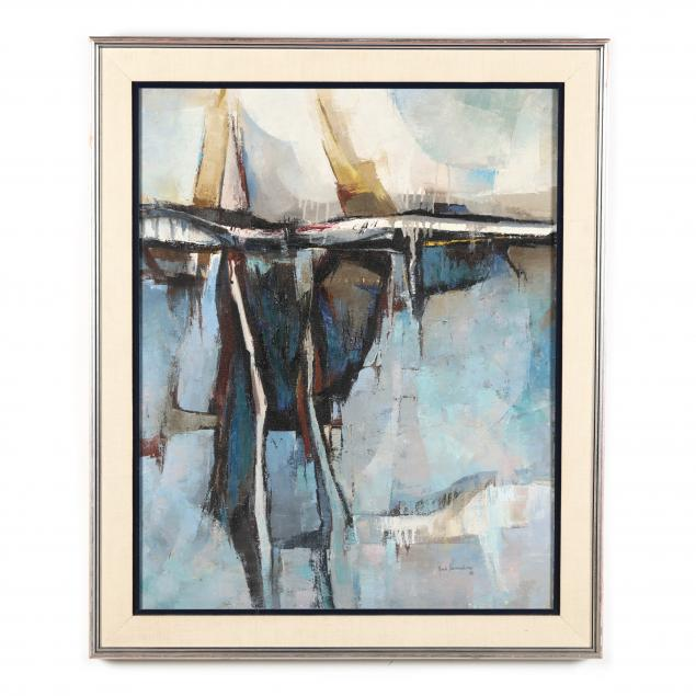 fred-samuelson-tx-fl-1925-2015-midcentury-abstract-landcape