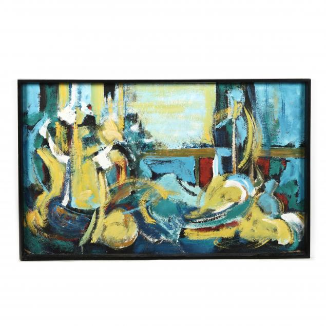 abstract-still-life-with-dog-painting