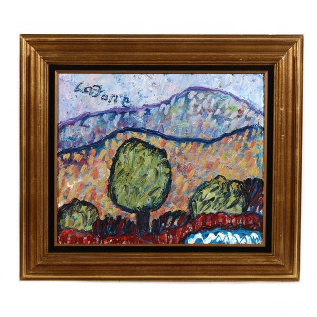 joe-lafone-nc-b-1940-fauvist-style-landscape