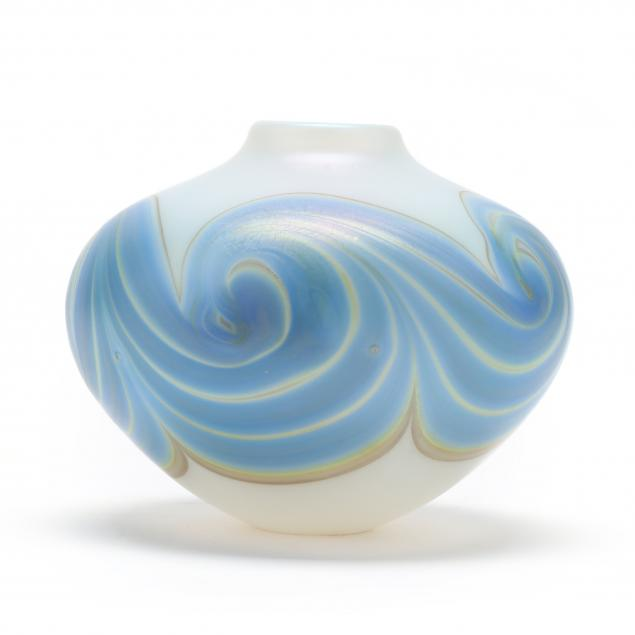 mark-peiser-american-born-1938-vintage-opalescent-swirl-glass-cabinet-vase