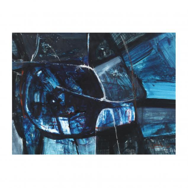 jorge-unda-ecuadorian-20th-century-midcentury-abstract-in-blue