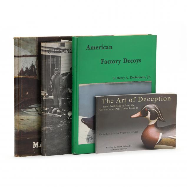 four-essential-books-for-the-decoy-collector