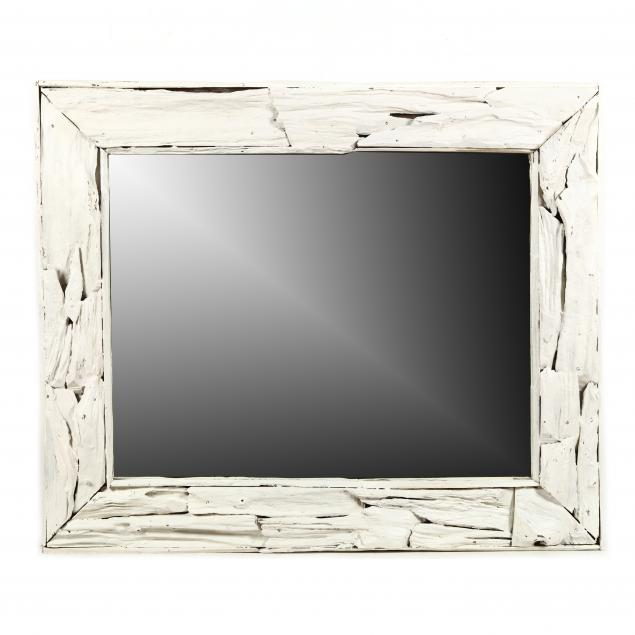 painted-driftwood-framed-mirror