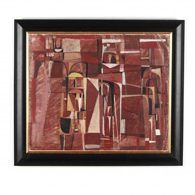 cubist-style-painting-in-red