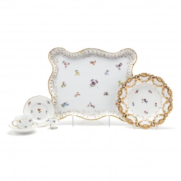 six-pieces-of-meissen-i-scattered-flowers-i-porcelain