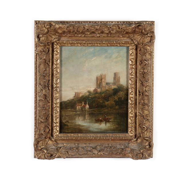 william-henry-earp-british-1831-1914-durham-cathedral-from-the-river-wear